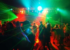 Young people in a nightclub